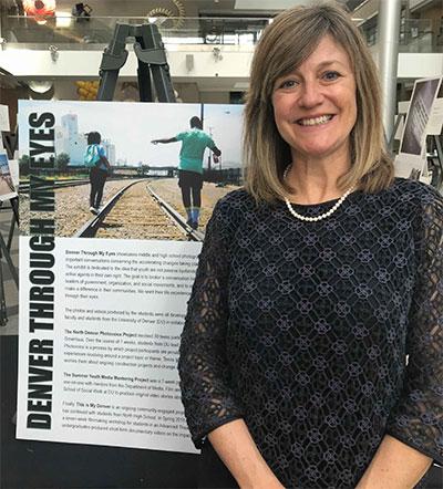 Community Engagement Pilot Grant recipient Lynn Clark, PhD