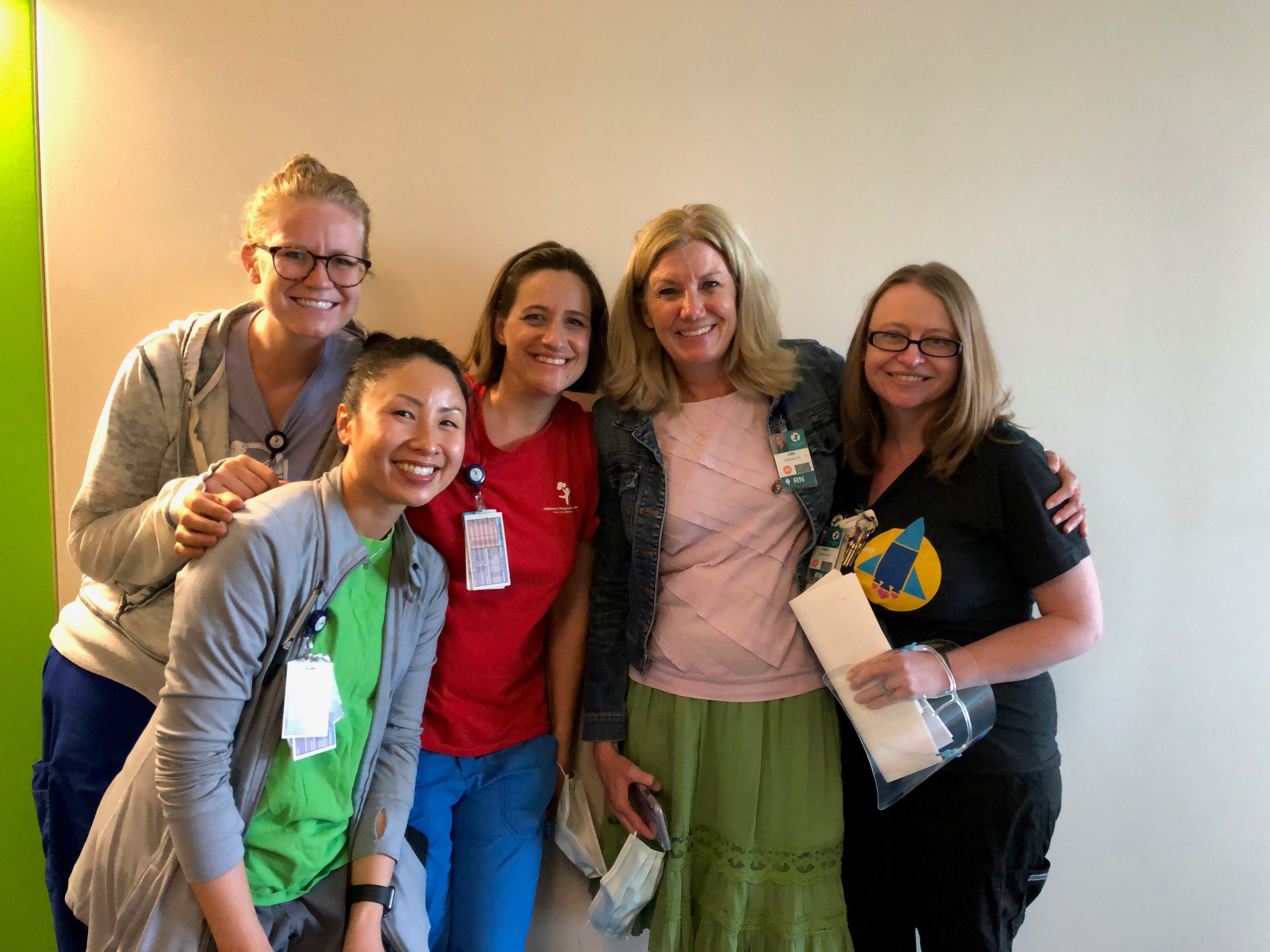 Lisa Lewis and Team